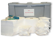 Kit absorbant antipollution hydrocarbures 300 litres